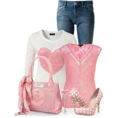 """""""I Heart You"""" by callmeadie on Polyvore"""
