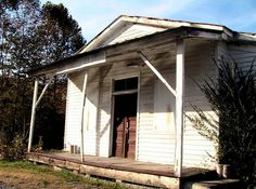 Abandoned country store fort Blackmore Virginia