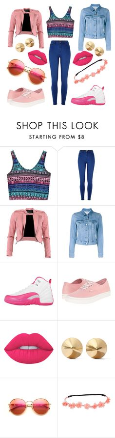 """cortiana(this outfit lowkey turmt)"" by im-in-love-wit-my-dimples on Polyvore featuring River Island, FRACOMINA, Acne Studios, NIKE, Vans, Lime Crime, Eddie Borgo and Wildfox"