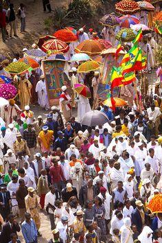 Timkat Festival, Lalibela, Ethiopia