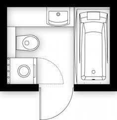 Aranżacje wnętrz. Łazienka o powierzchni 4 m kw.; projekty, projekt lazienki…