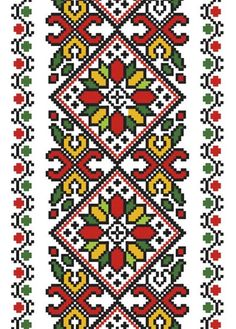 This Pin was discovered by Ale Palestinian Embroidery, Hungarian Embroidery, Hand Embroidery Stitches, Cross Stitch Embroidery, Cross Stitch Designs, Cross Stitch Patterns, Cross Stitch Boards, Tapestry Crochet, Peyote Stitch