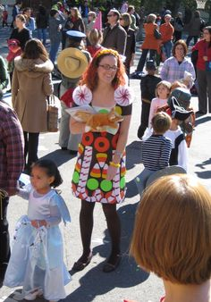 The Gingerbread Girl costume.
