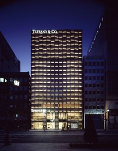 Tiffany Ginza | kengo kuma and associates