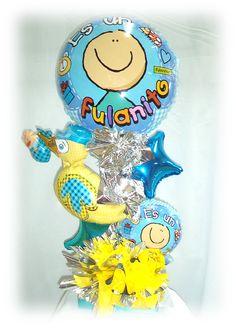 #Amigos les informamos que contamos con nuevos #Estilos de #Globos y #Arreglos #Nacimiento #Fulanito!!!