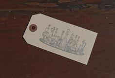 Drink Tray Gift Tag