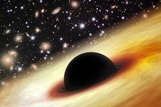 Los astrónomos, incapaces de explicar el tamaño y edad de un agujero negro supermasivo   Ciencia curiosa - Yahoo Noticias