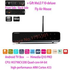 297.97$  Watch here - http://ali8zl.worldwells.pw/go.php?t=32363403861 - HiMedia Q10 PRO 3D 4K UltraHD Smart Android 5.1 TV Box 2GB/ 16GB HDMI 2.0 Bluetooth 4.0 Dual WiFi & HDD Bay DTS DOLBY Play Store