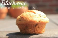 Blueberry Chocolate Chip Muffin with coconut sugar