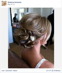 This is a good example of showing off a great style. Salon social media should be a mix of styles, news, and interactive surveys.