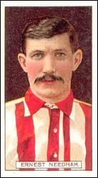 Ernest Needham of Sheffield Utd in Bristol Rovers, Laws Of The Game, Association Football, Most Popular Sports, Sheffield United, Fifa, World Cup, How To Memorize Things, The Unit