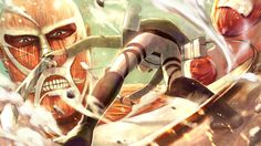 Shingeki No Kyojin, Attack On Titan - Wallpaper - ImgPrix 2560x1440 Wallpaper, Image Boards, Attack On Titan, Gallery, Anime, Painting, Wallpapers, Fictional Characters, Art