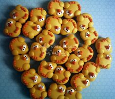Casal de passarinhos | par Sonho Doce Biscuit *Vania.Luzz*