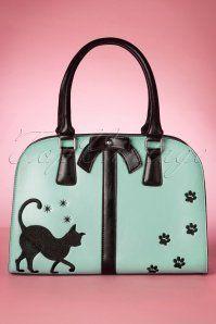 Vixen TopVintage Exclusive Cat Bag in Mint 212 40 18605 05092016 023W