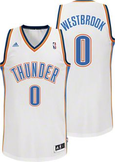 af21f67abd62 Oklahoma City Thunder Russell Westbrook 0 White Authentic NBA Jersey Sale Sports  Jerseys