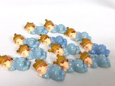 12 Baby Prince Baby Shower Party Favor Cake Decoration