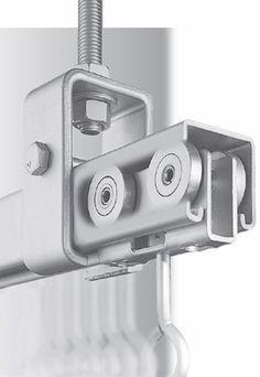 Linear Guide Roller Bearing Sliding Rail Door Consoles