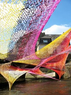 Outdoor Art Installations | Images above: These installations were created by artist Edith ...