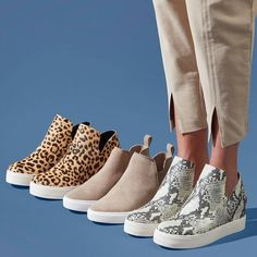 Sneakers – High Fashion For Men Trendy Shoes, Cute Shoes, Me Too Shoes, Retro Sneakers, Slip On Sneakers, Sneakers Fashion, Fashion Shoes, Cheetah Shoes, Tennis Shoes Outfit
