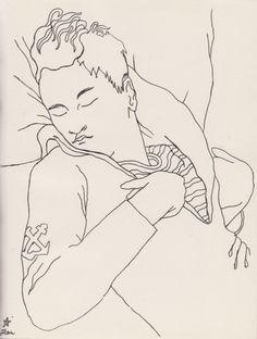 Bibliothèque Gay: 25 dessins d'un dormeur, Jean Cocteau, 1929