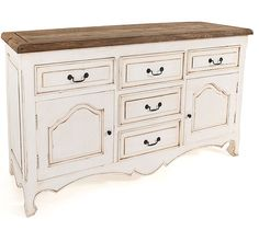 Champagne Shabby Chic Sideboard