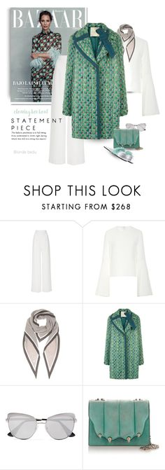 """She is one of the rare ones, so effortlessly herself"" by blonde-bedu ❤ liked on Polyvore featuring Brandon Maxwell, Loro Piana, Marco de Vincenzo and Prada"