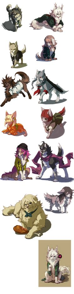 Dangan Dogs - By NoneNess