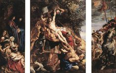 Peter Paul Rubens - Raising of the Cross - WGA20204 - ピーテル・パウル・ルーベンス - Wikipedia