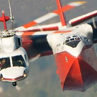 Sikorsky S-76 leads in Heavy fire bomber