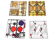 Frank Lloyd Wright Sandstone Coaster Set  Glass Designs *** Be sure to check out this awesome product.