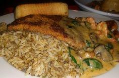@BoudreauxsCajunKitchen @BoudreauxsTexas  Orleans grilled option  #foodie #foodblogger #foodvlogger #vlogger #PTCares #Cajun #food #Orleans #fish #seafood #shrimp #crawfish #pecan #pecancrusted