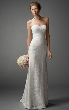 Elegant Sheath Floor-length Wedding Dresses,New Arrivals Wedding DressesWedding Dresses