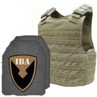 Advanced Survivor » Defender Plate Carrier + Armor (Tan)