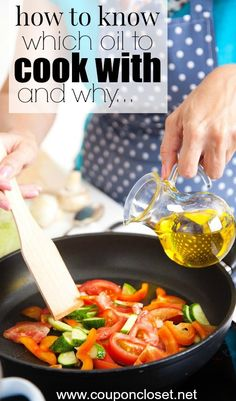 The Best Oils to Cook With.  Have you ever wondered what is the BEST Oil to cook with?  I thought it would be fun to take a minute to talk about oils. No two oils are created equally