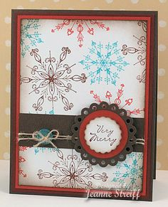 christma card, christmas cards, card idea, color combos, colors, snow flake, flakes, holidays, snowflak