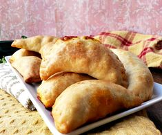 Flaky savory beef empanadas, perfect as a snack, side dish or main entree