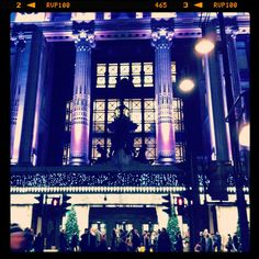 Selfridges London...when I was a child we did our Christmas shopping here.