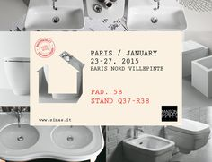 SIMAS AT #MAISON&OBJECT FROM JANUARY 23rd  TO 27th 2015  Simas, 60 years, ceramics sanitary ware since 1955. So reliable, so solid, quality-certified, #Simas, #ceramics #sanitary ware since 1955, represents a shop-window for '#madeinItaly' with a 100% opening to the international markets,  in all those places where the Italian 'bathroom design' is outstanding.  #MaisonObjet, 20 years, from 1995 in #Paris.