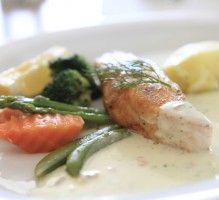 Recette - Pavés de saumon au barbecue - Proposée par 750 grammes