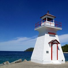 Lions Head, Ontario, Canada Lake Huron, Lighthouses, Lions, Ontario, Places To Go, Canada, Beautiful, Lion, Lighthouse