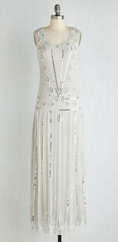 Winsome Wonderment Dress in Frost