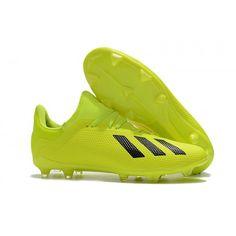 reputable site 41c10 ec971 Best adidas X 18.3 FG Yellow Black cleats