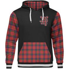 Robertson (Clan Donnachaidh) - Tartan All Over Print Hoodie - BN - Unisex / Xxs / Black | Google Shopping My Heritage, Unisex, Hoodies, Google, Sweaters, Shopping, Fashion, Moda, Sweatshirts