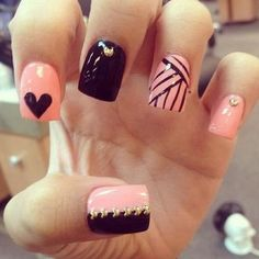Are you looking for some rock 'n' roll design or some cute nail designs that have a pirate theme? Nowadays, the pirate theme is very popular. The black and pink with silver accents highlight the pirate theme and also brings out the inner girly bit of edge. Colors required for cute nail designs include razor …