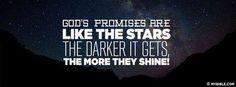 God's Promises Are Like The Stars