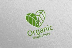 Love Natural and Organic Logo 36 by denayunebgt on @creativemarket