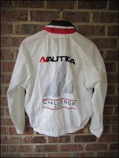 Vintage 90's RARE Nautica Challenge Sailing Jacket by CharchaicVintage, $30.00