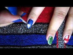 collab christmas nail art with Beyonceesha