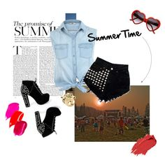 """summer time !"" by fetussyni on Polyvore"