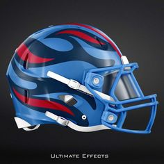 2cbe2406ee9 Designer Creates Awesome Concept Helmets For All 32 NFL Teams (PICS) Cool  Football Helmets